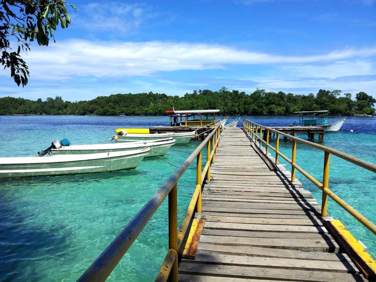 Pantai Iboih, Aceh. Pantai Cantik di Pelabuhan