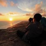 Menikmati Senja Dari Atas Bukit Parang Endog, Jogja
