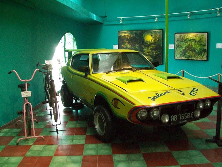 Museum Affandi Yogyakarta, Melihat Koleksi Lukisan Dari Sang