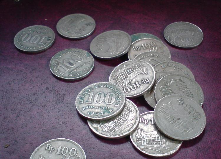 Koin 100 Rupiah 1973 Tebal
