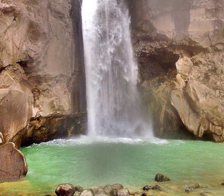 Air Terjun Mangku Sakti. Air Terjun Cantik Di Kaki Gunung Rinjani