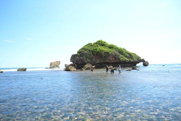 Pantai Sundak, Gunung Kidul. Perkelahian Dua Binatang Yang Membawa Berkah