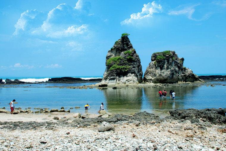 Pantai Sawarna, Salah Satu Pantai Terindah di Banten