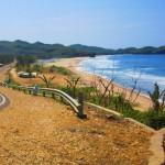 Cantiknya Pantai Soge, Pacitan Yang Terlihat Dari Jalan Raya