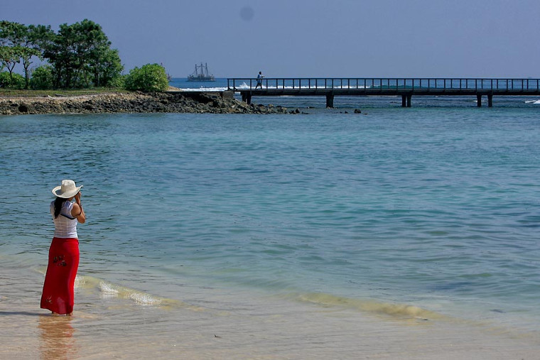 Pantai Tanjung Lesung, Banten. Pantai Cantik Secantik Lesung Pipi