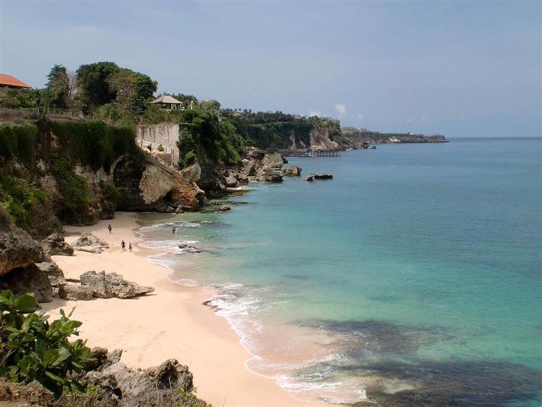 Pantai Tegalwangi, Jimbaran. Pantai Dengan Bukit Cantik Untuk Merenung