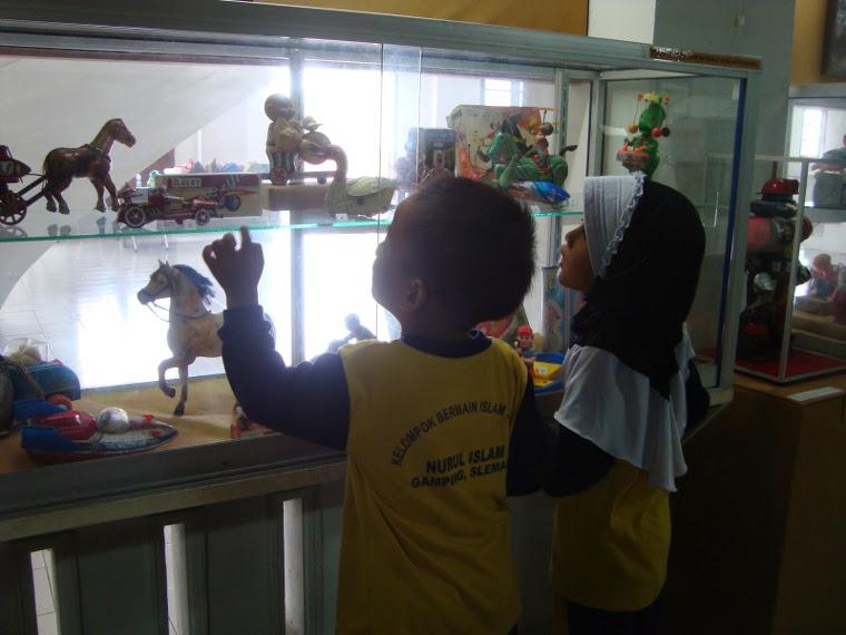 Back In Time, Bernostalgia Dengan Masa Anak-anak di Museum Anak Kolong Tangga, Jogja