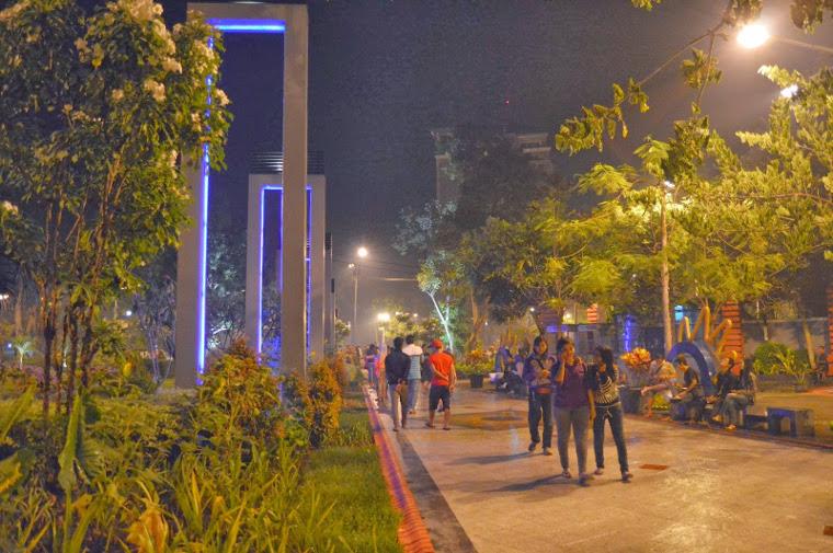 taman bungkul malam