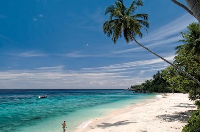 Pantai Sumur Tiga. Pantai Cantik di Pulau Weh