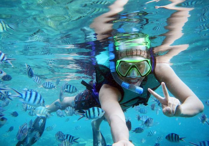 snorkeling karimun jawa
