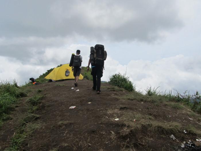 pendakian andong
