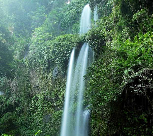 Air Terjun Sendang Gile. Air Terjung Cantik di Jalur Pendakian Gunung Rinjani