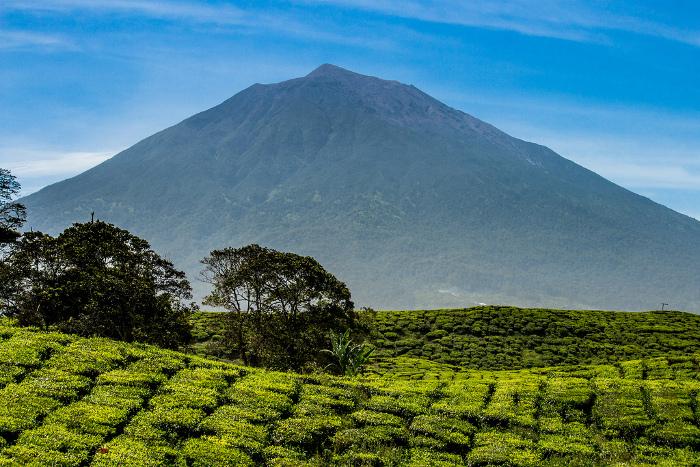 Gunung Kerinci, Gunung Api Tertingg di Indonesia