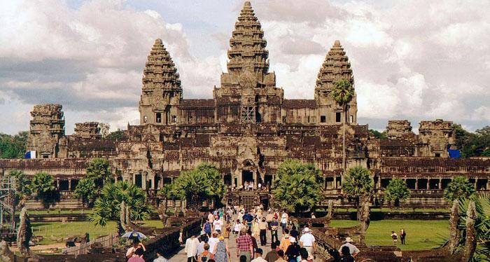 Angkor-Wat-Tempel-Kambodscha