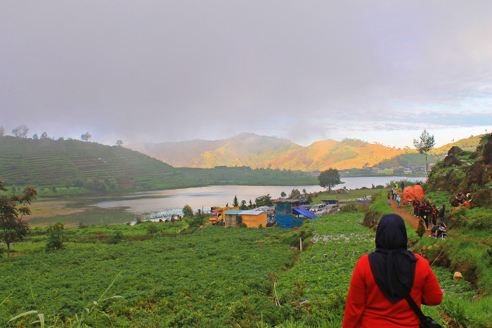 Telaga Cebong. Telaga Cantik di Desa Tertinggi di Jawa