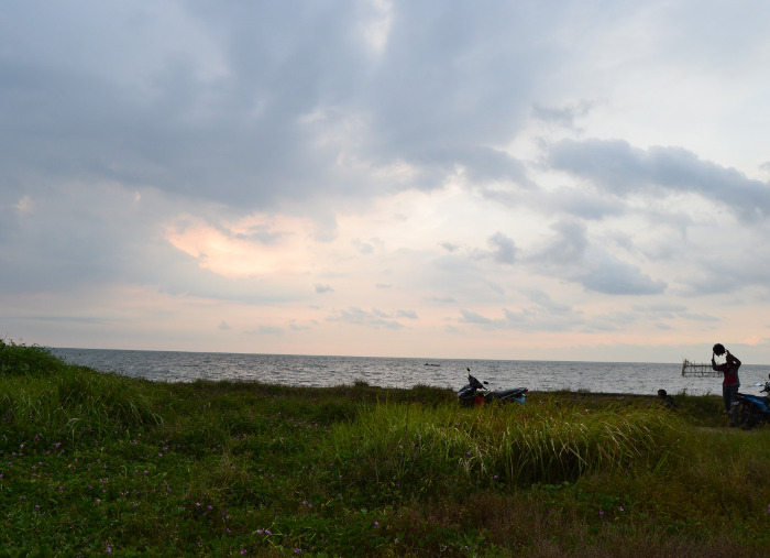 Pantai Baruna, Semarang. Pantai Dengan Padang Ilalang Yang Instagramable Banget