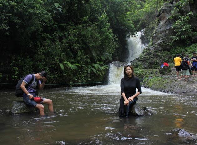 Curug Tilu. Air Terjun Kecil Menawan Hati di Lembang