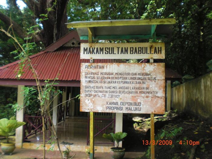 Makam Sultan Babullah