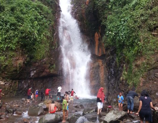 Curug Cigamea. Tempat Yang Cocok Untuk Refresh Otak di Bogor