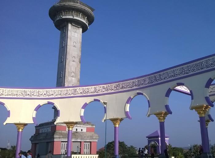 Menara Al Husna. Cara Terbaik Menikmati Pemandangan Kota Semarang dari Ketinggian