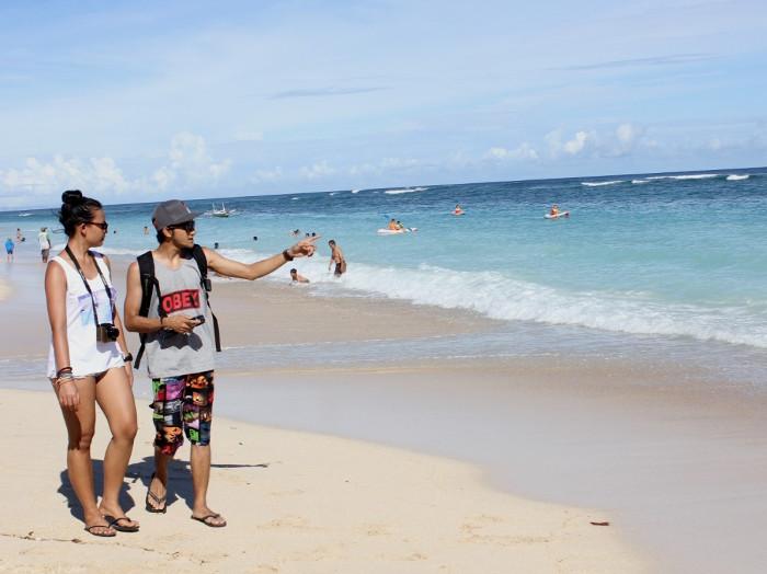 Pantai Pandawa. Pantai Cantik di Bali Yang Dipenuhi Pahatan Indah di Tebing Batu
