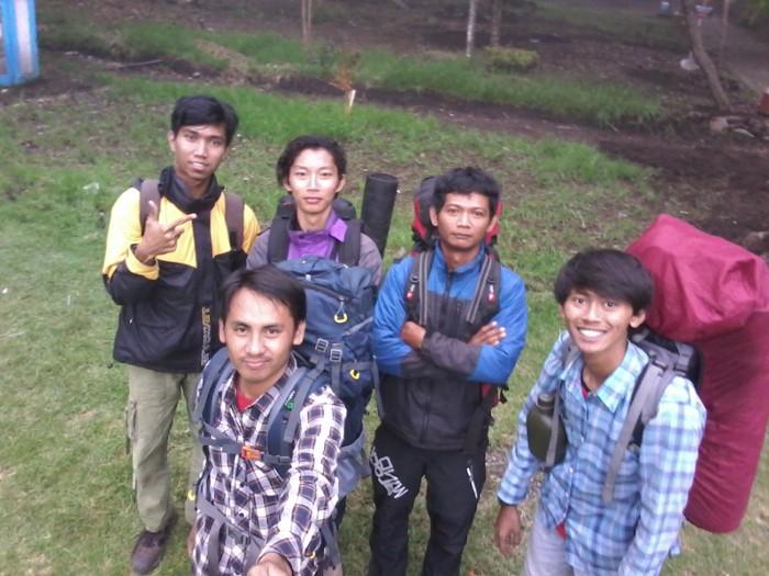 At base camp Cemoro Sewu