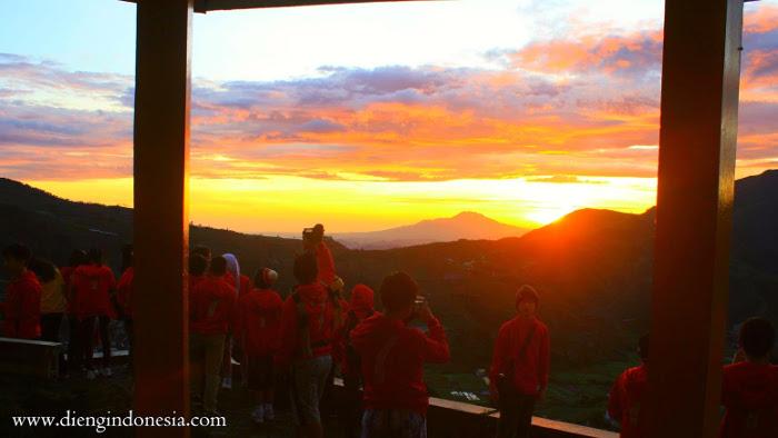 sunrise gardu pandang tieng
