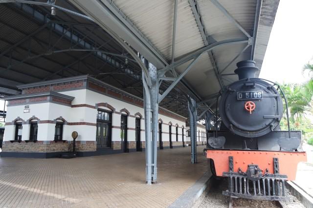 Menjelajah Museum Kereta Api Ambarawa