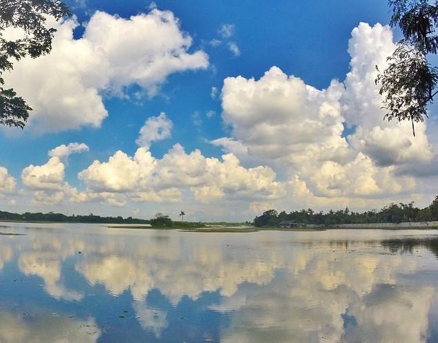 Ada Pulau Cinta di Danau Cipule, Karawang