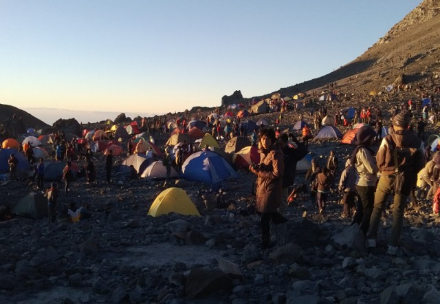 Gunung Merapi saat 17-an