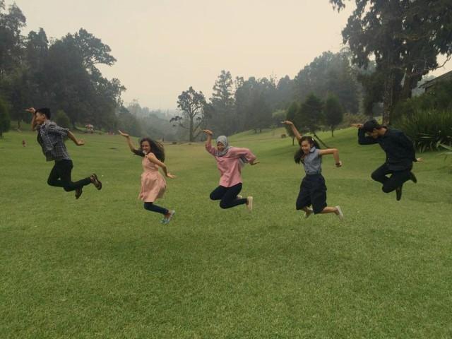 Piknik Asik di Kebun Raya Cibodas, Cianjur
