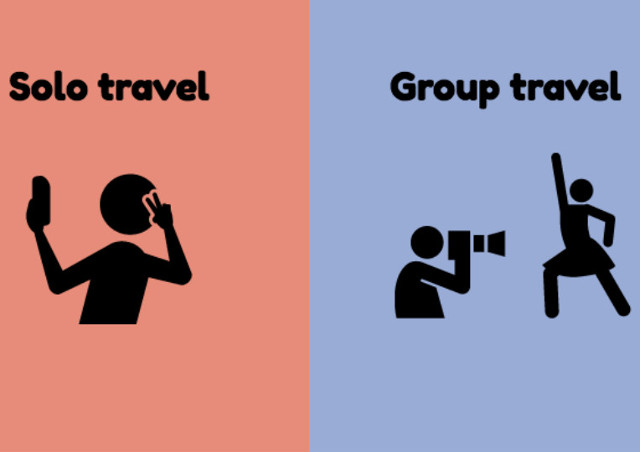 7 Perbedaan Antara Traveling Rame-rame dan Traveling Sendirian